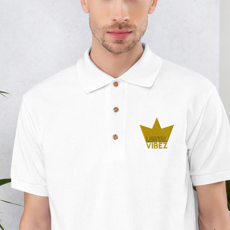 LAWYAL VIBEZ Embroidered Polo Shirt