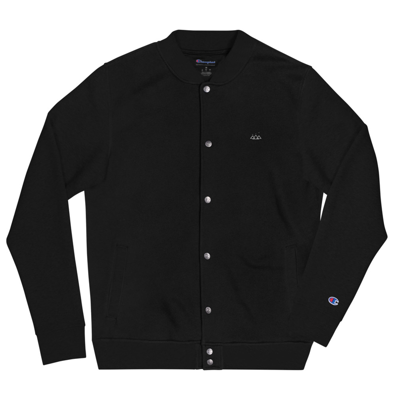 Origins Of Orion Icon Embroidered Champion Bomber Jacket