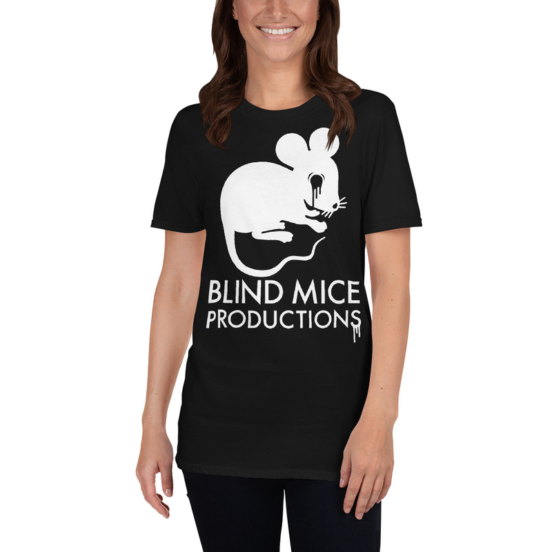 Blind Mice Tee with text