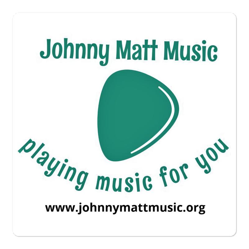 Johnny Matt Music Stickers