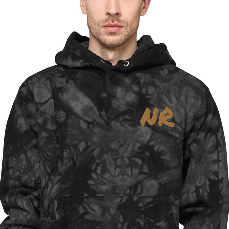 Unisex Champion tie-dye hoodie