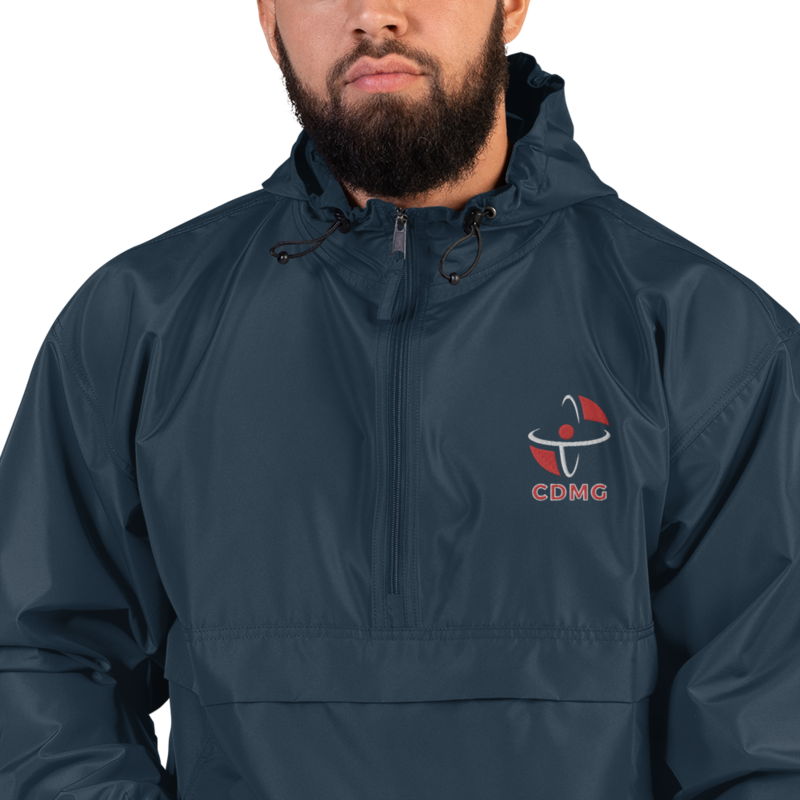 CDMG Custom Embroidered Champion Packable Jacket