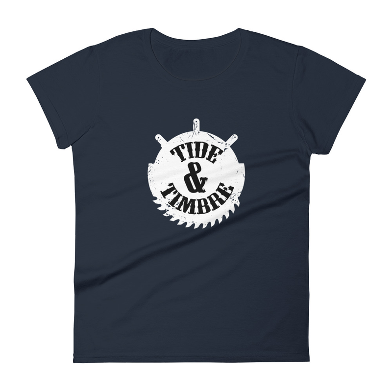 Tide & Timbre Logo Women's short sleeve t-shirt