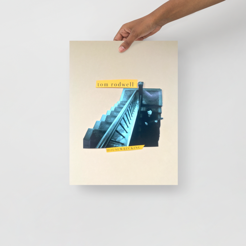 Tom Rodwell - Housewrecking poster