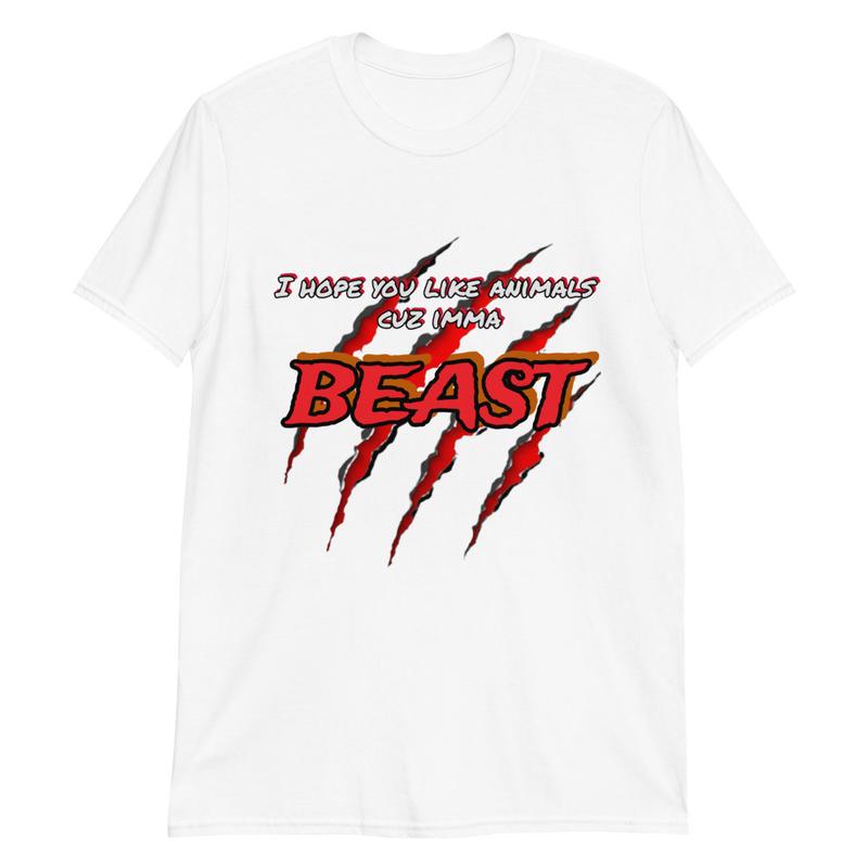 BEAST Unisex T-Shirt White
