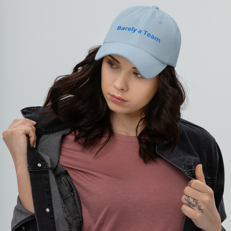 Barely a Hat (Embroidered)