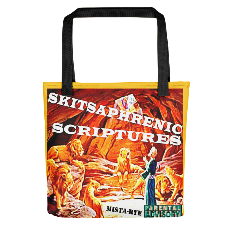 Smaller Tote bag - SKITSAPHRENIC SCRIPTURES