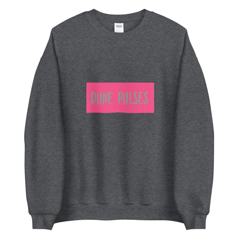 Unisex Sweatshirt (Dune Pulses - Neon)