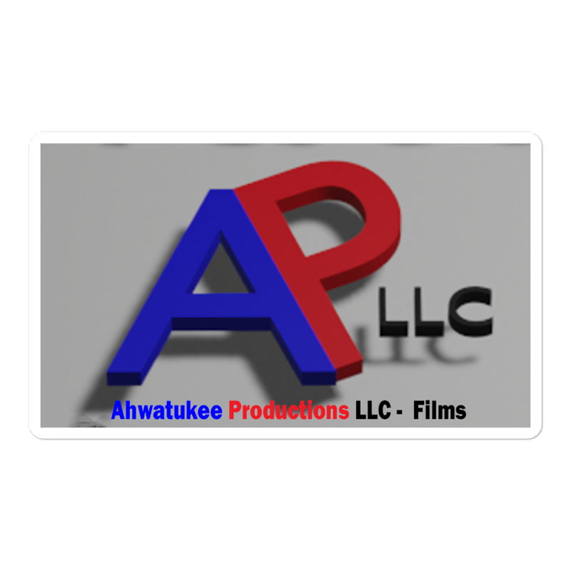 AP-Film Logo - Bubble-free stickers