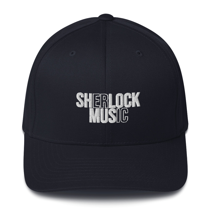 Sherlock Music Cutout - Flexfit Hat
