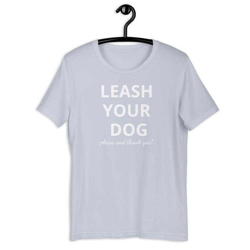 Leash your dog