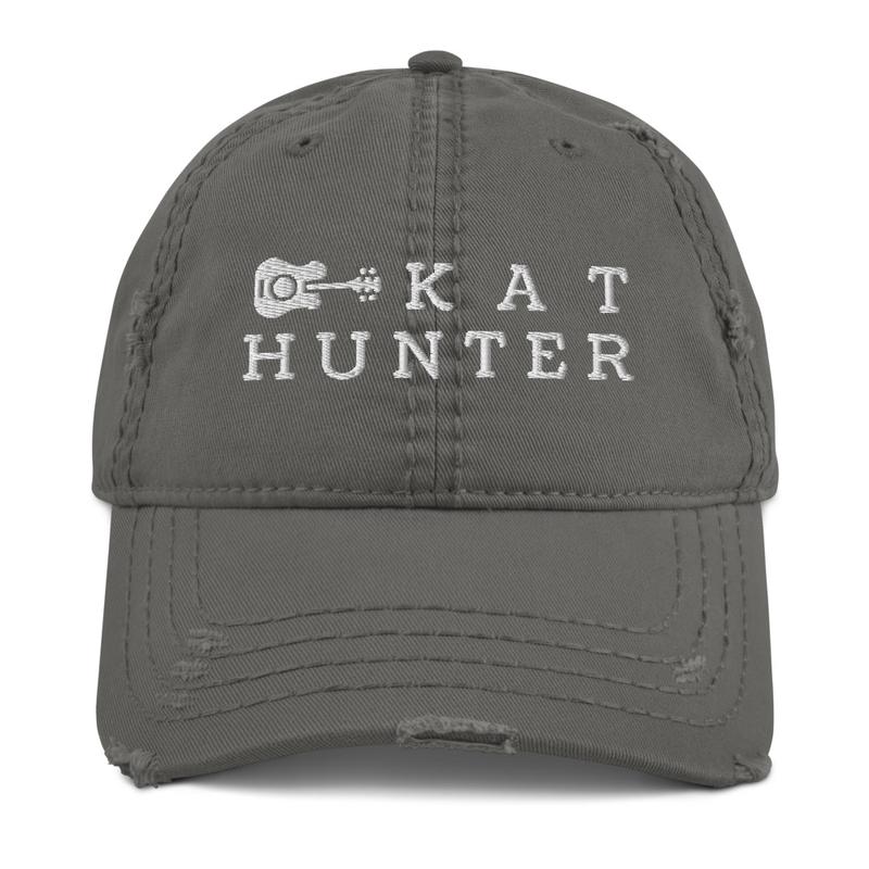 Distressed Kat Cap