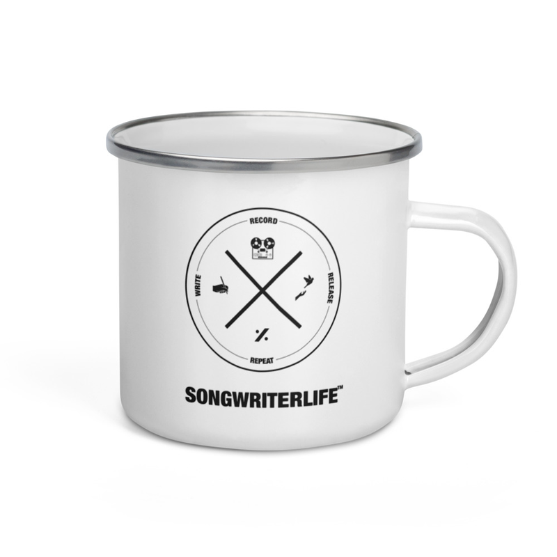 SONGWRITERLIFE CAMP Enamel Mug