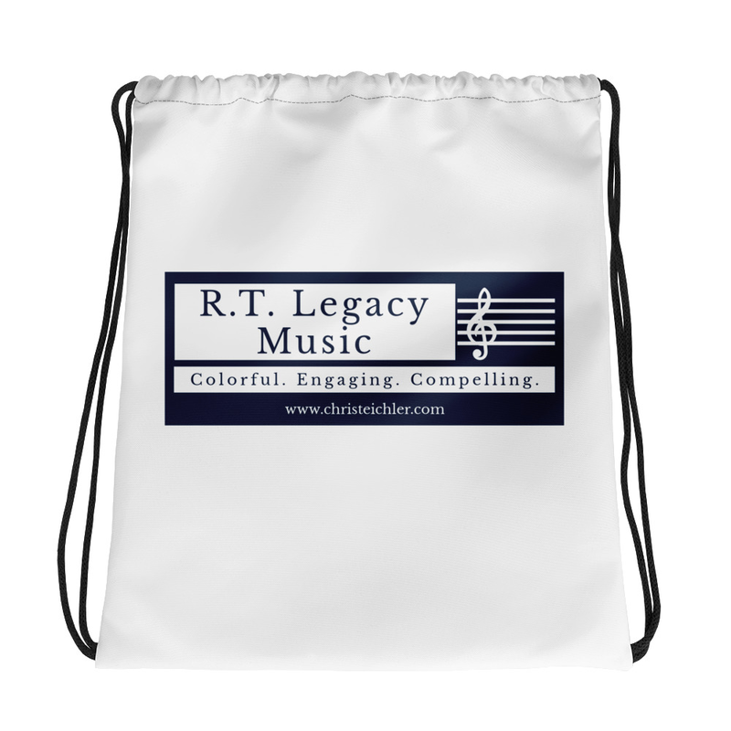 R.T. Legacy Drawstring bag