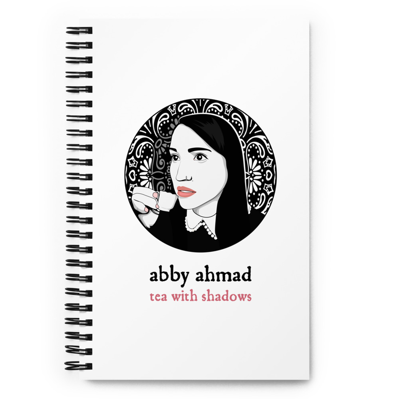 Tea with Shadows Spiral Notebook