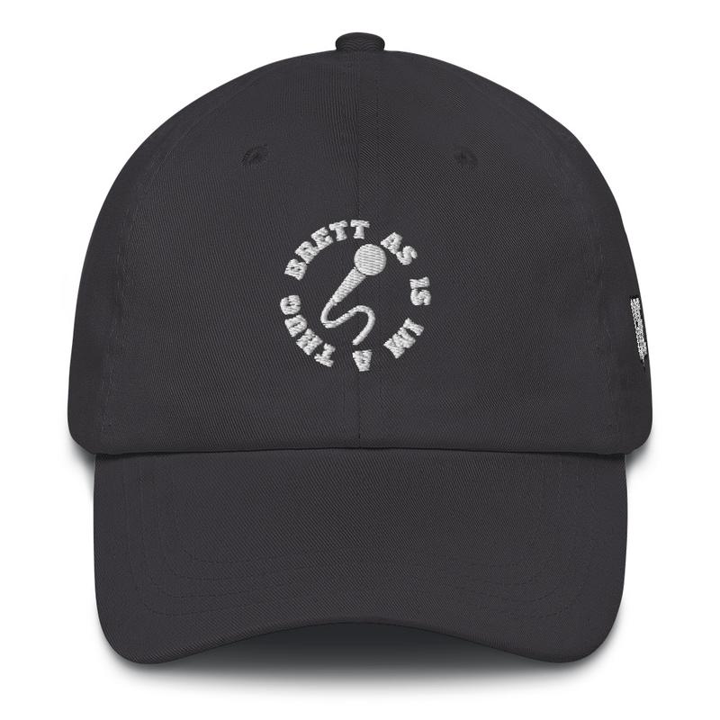 "Brett As Is ""I'm A Thug"" Logo Hat (GRE Logo on Left Side)"