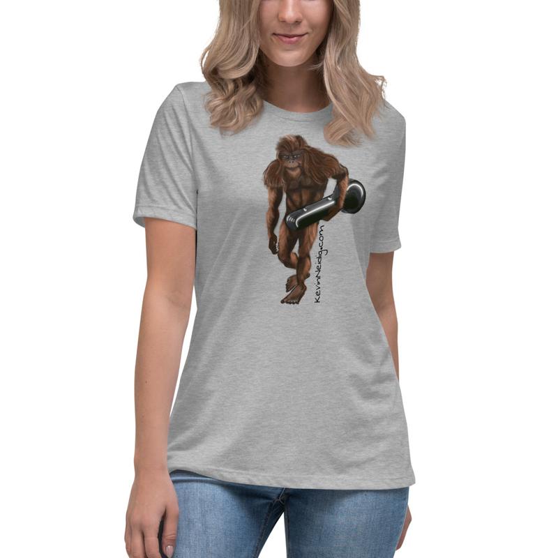 Sasquatch Women's Relaxed T-Shirt