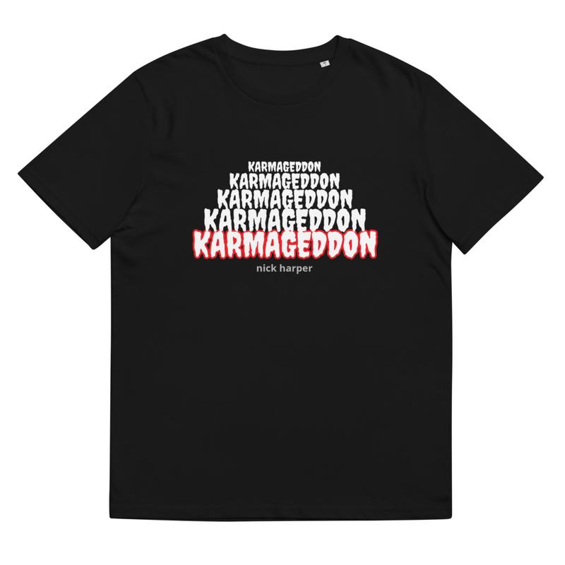 Karmageddon organic cotton t-shirt