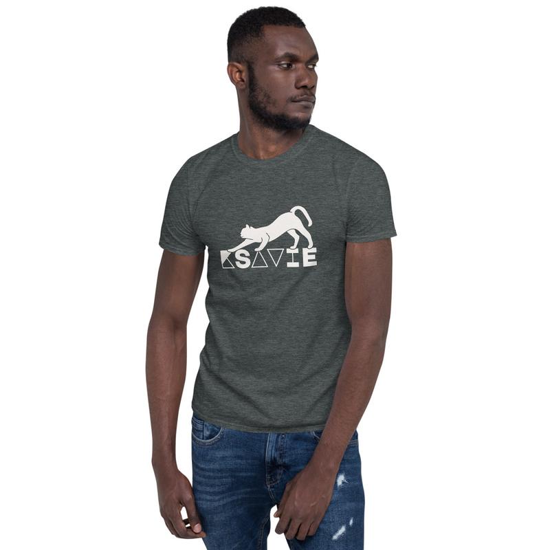 Camiseta de manga corta unisex GATO