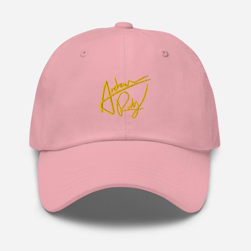 Gold Signature Dad hat