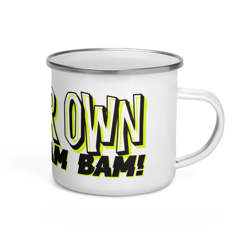 Enamel Mug - WHAM BAM!