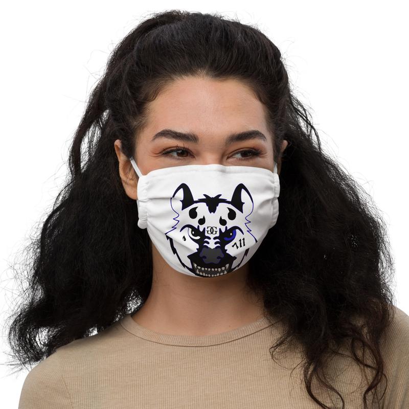 711 HYENA GANG Premium face mask