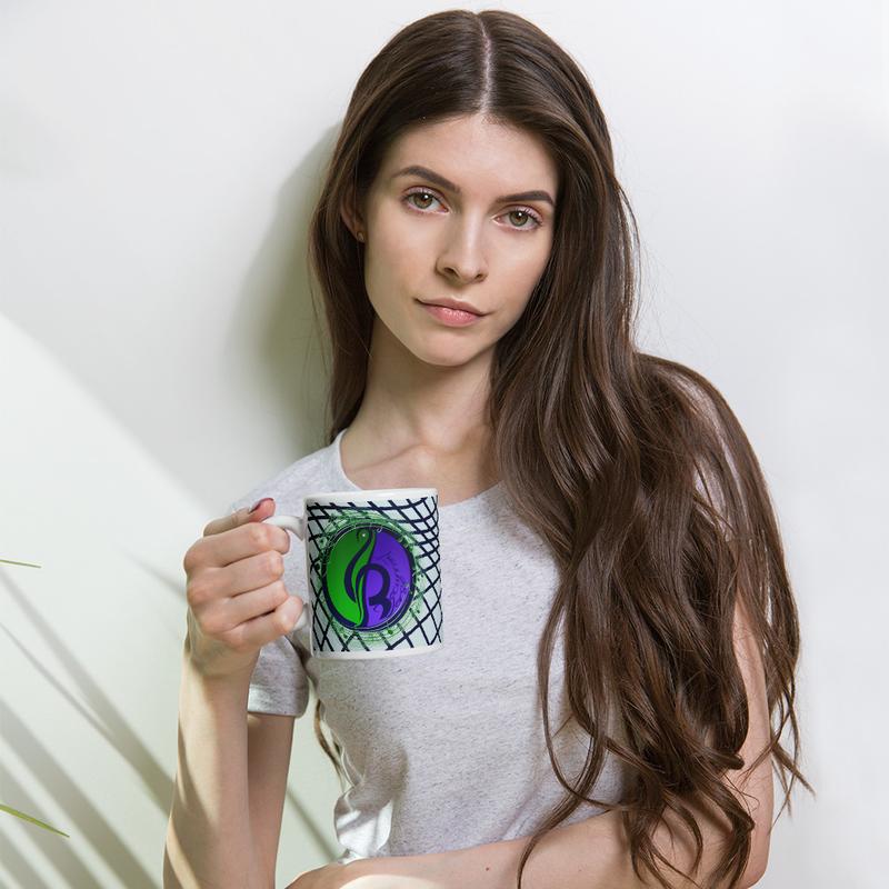 Wavy Logo Mug