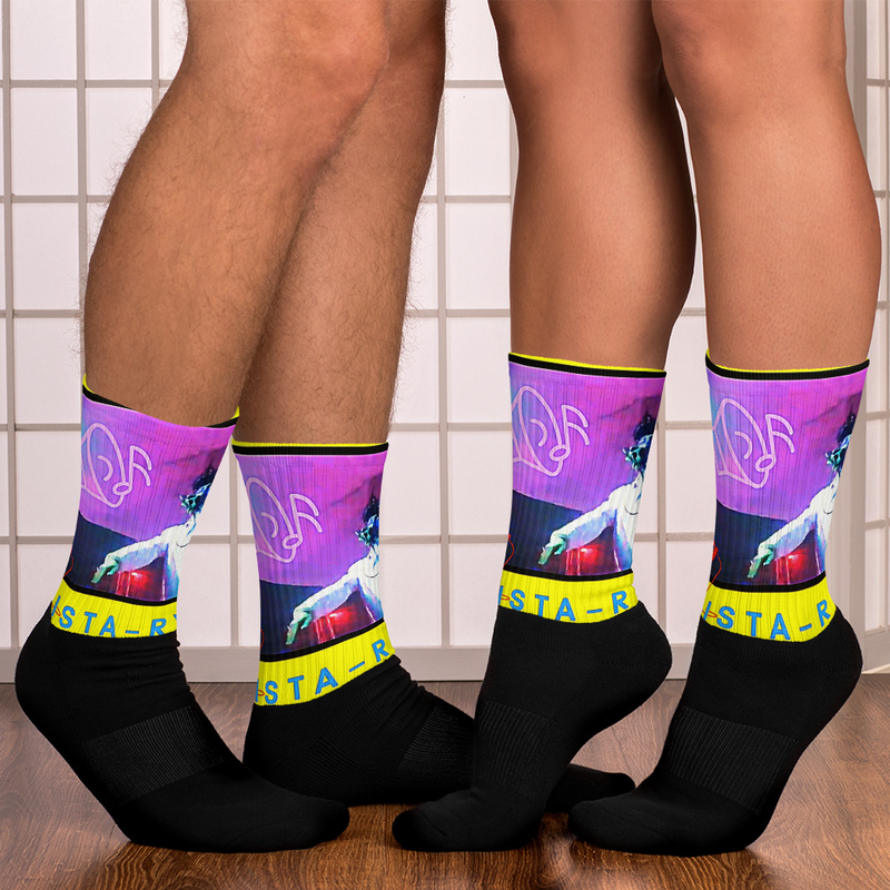 """""""Collectable"""" Socks - Mista on the MIC"""