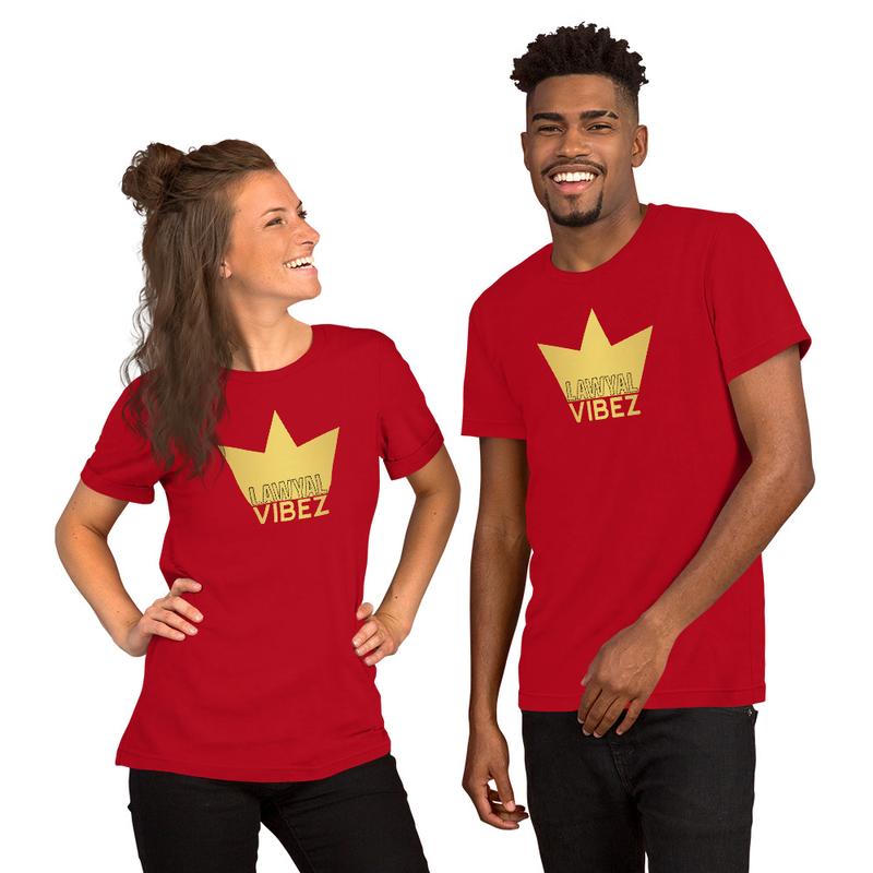 LAWYAL VIBEZ Short-Sleeve Unisex T-Shirt