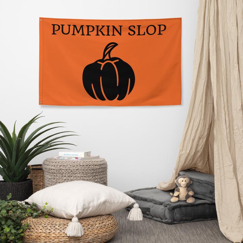 Pumpkin Slop Flag