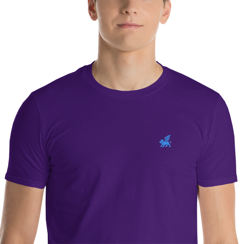 Embroidered Guardian T-Shirt mockup