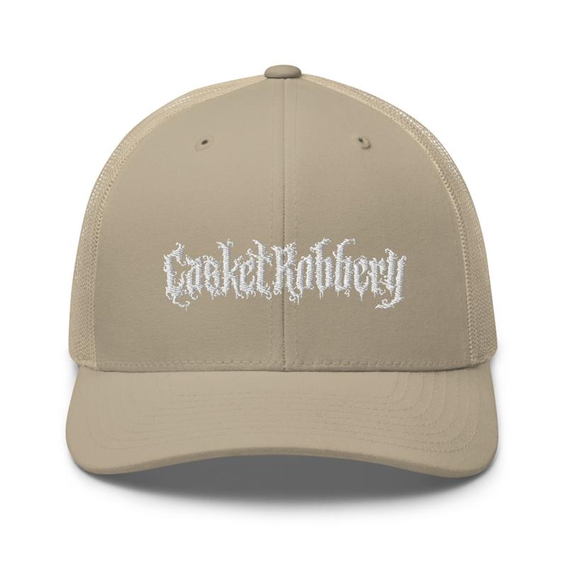 Embroidered Logo Trucker Cap