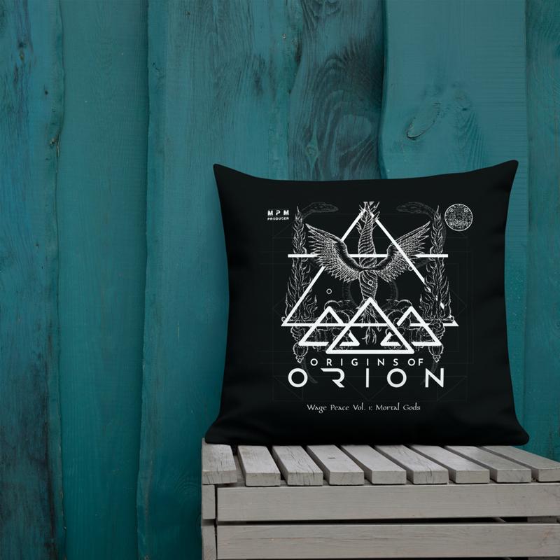 Origins Of Orion Wage Peace Vol. 1: Mortal Gods Premium Pillow