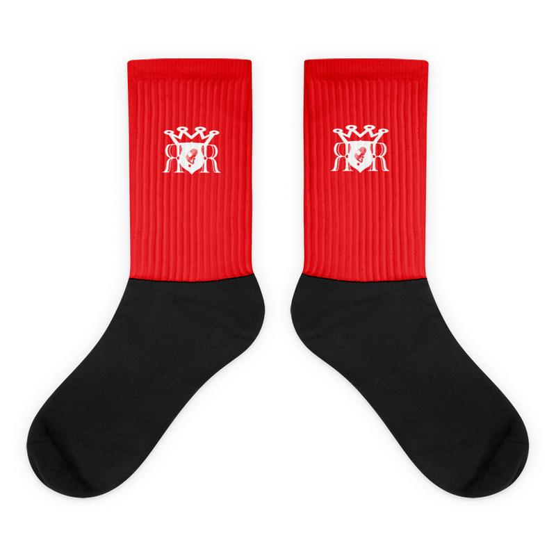 Ron Royal Socks Red