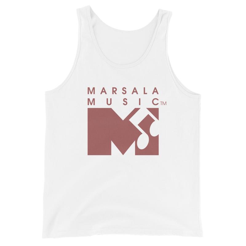 Marsala Music Tank Top (Unisex)