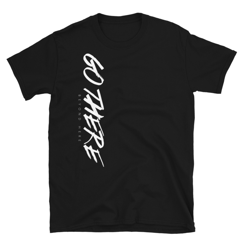 Go There Short-Sleeve Unisex T-Shirt (Dark)