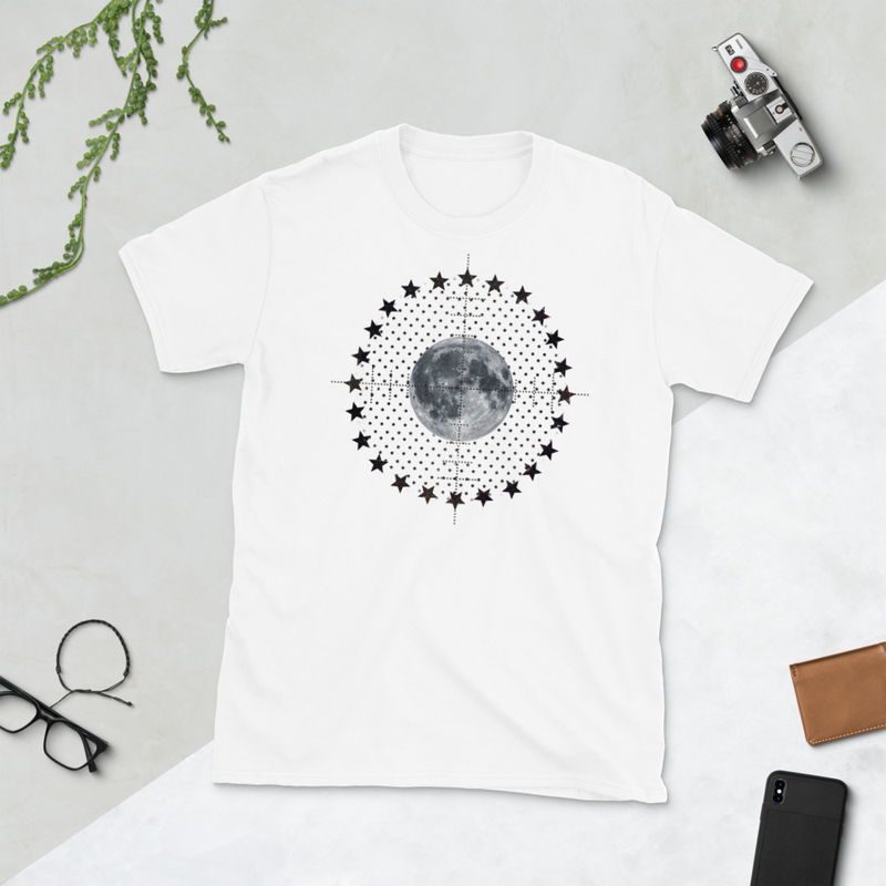 Shoot For The Stars, Aim For The Moon (Unisex T-Shirt)