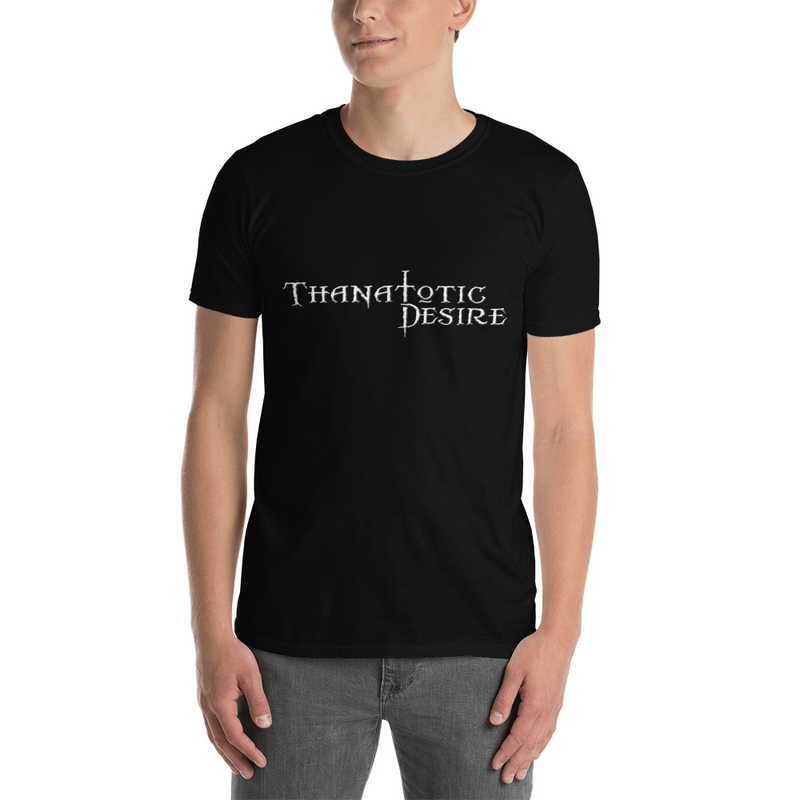 Thanatotic Desire logo Short-Sleeve Unisex T-Shirt