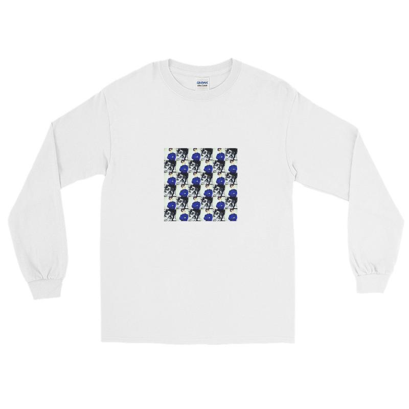 HKS polka dot Men's Long Sleeve Shirt
