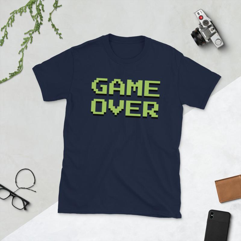 Game Over Short-Sleeve Unisex T-Shirt