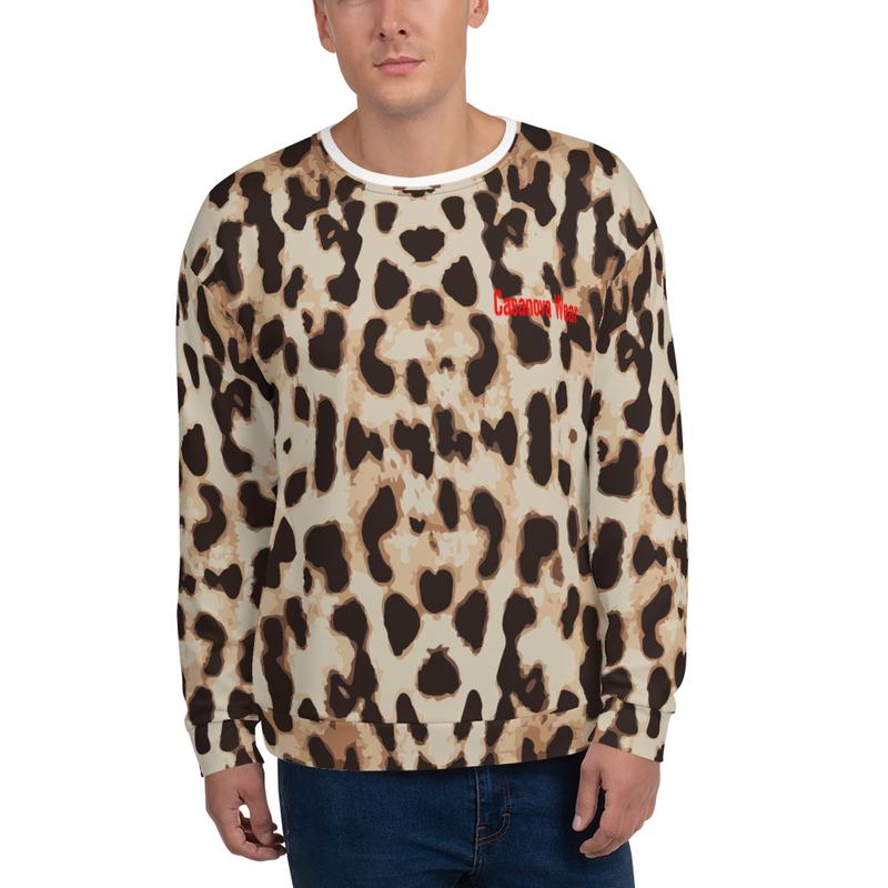 Casanova Wear Leopard Unisex Sweatshirt