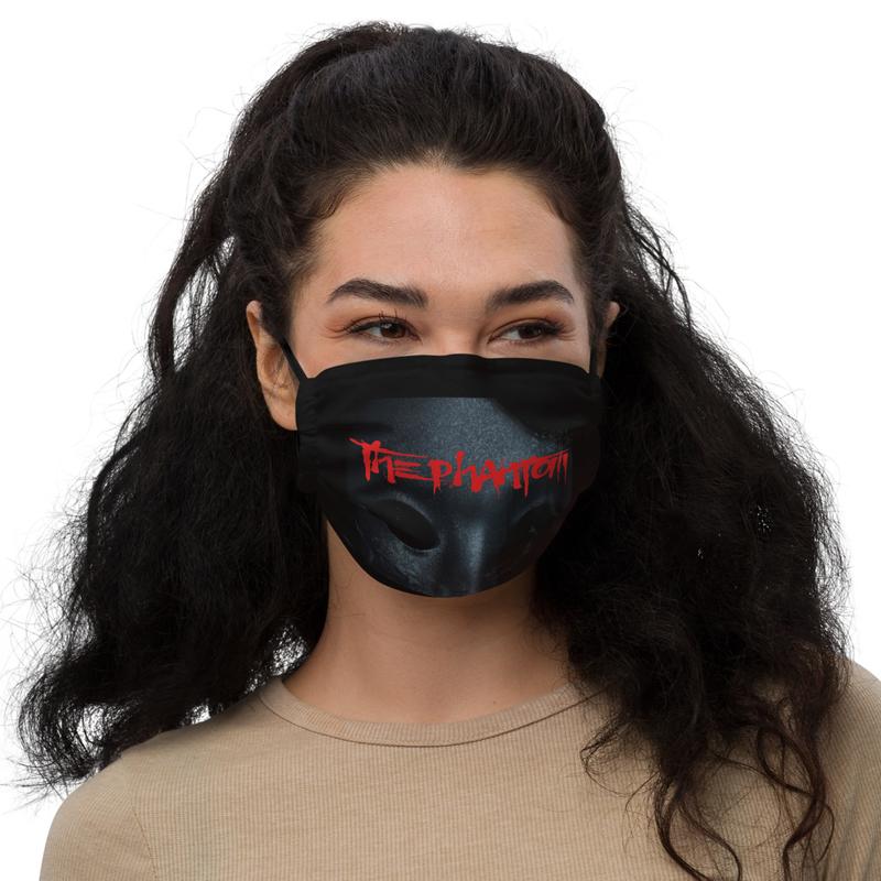 The Phantom Album Cover Face Mask