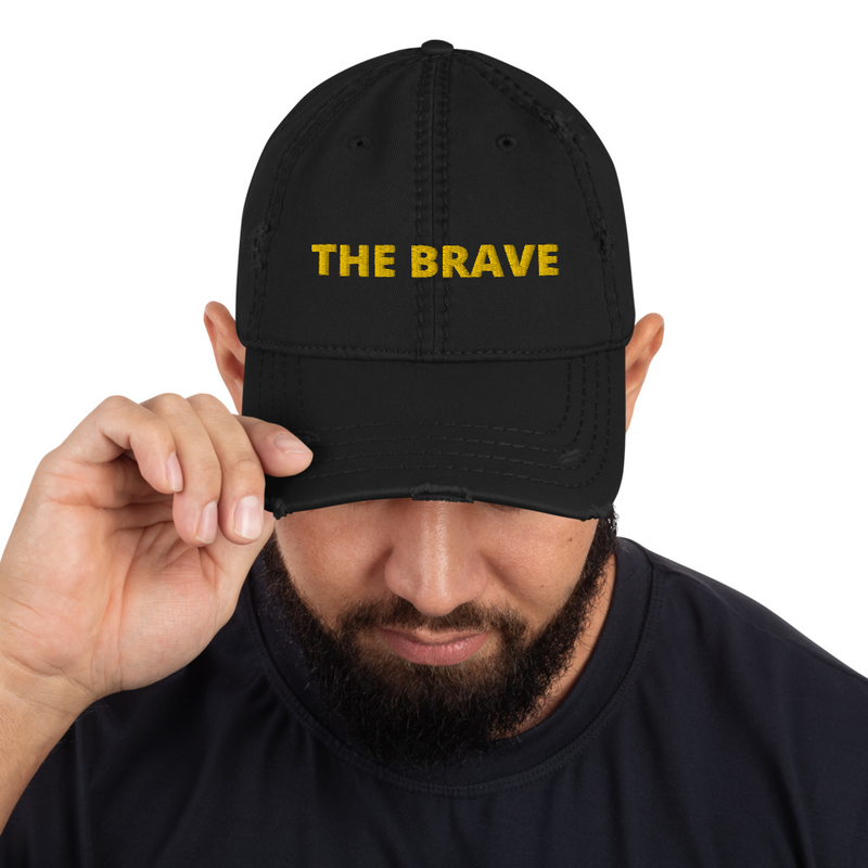 The Brave Distressed Hat