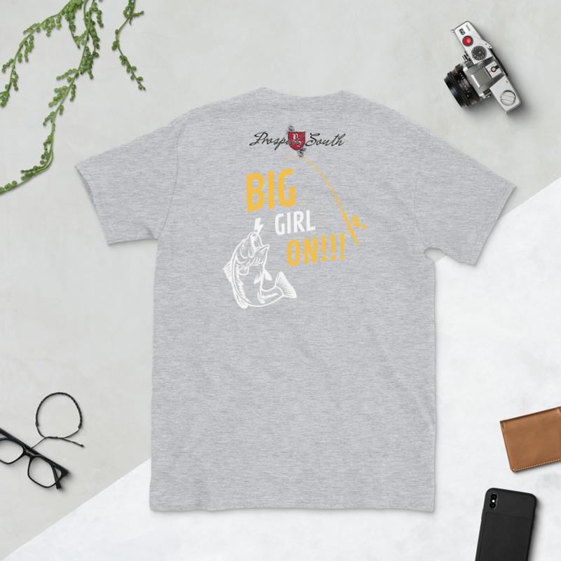 Big Girl On!!! Short-Sleeve Unisex T-Shirt