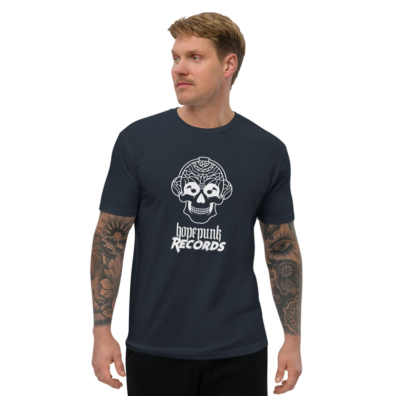 Short Sleeve Mens Fitted T-shirt - HopePunk Records