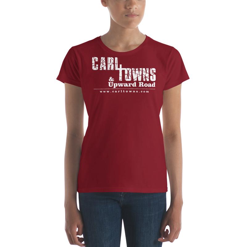 Carl T. White Logo - Women's short sleeve t-shirt