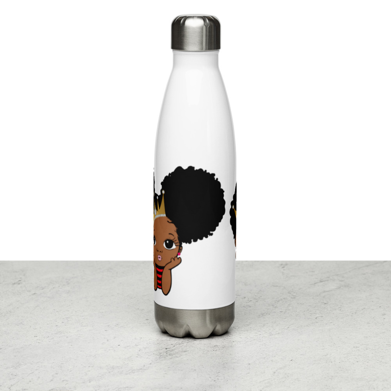 Princess & Prince Stainless Steel Water Bottle