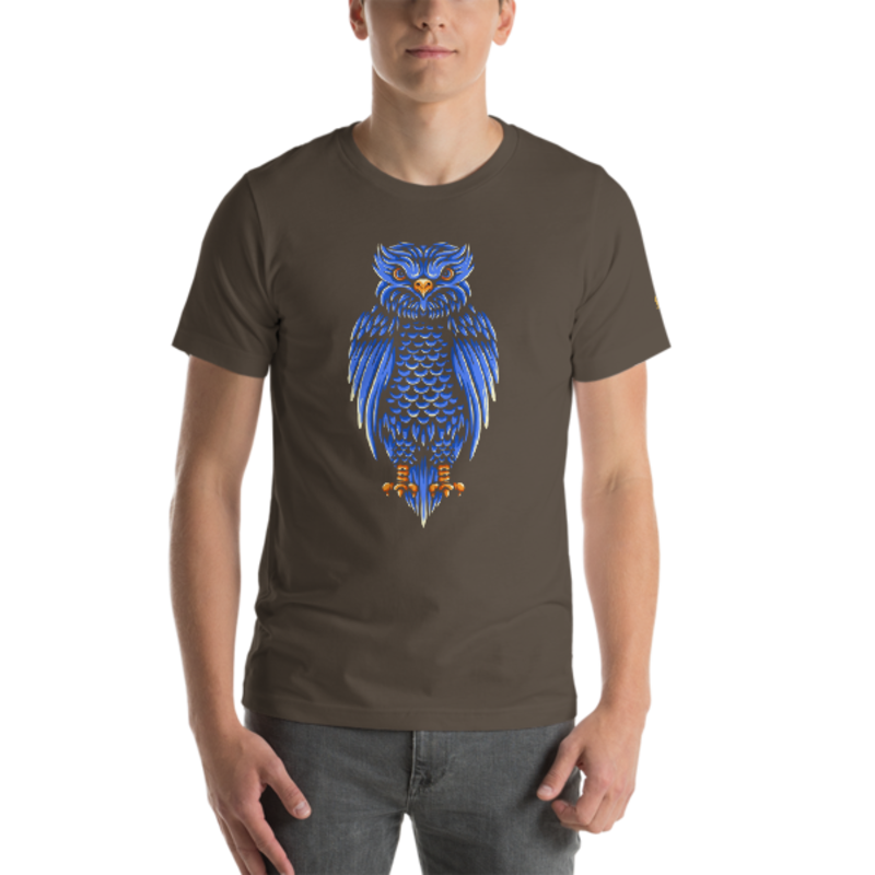 Owl Unisex T-Shirt mockup