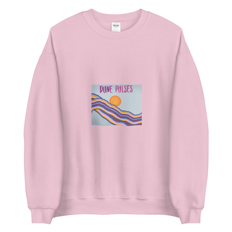 Unisex Sweatshirt (Dune Pulses - Happy Day)