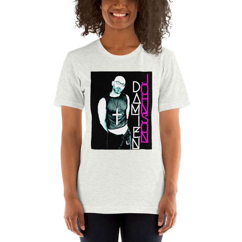 Unisex T-Shirt Neon White